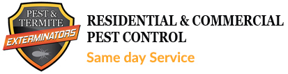 Pest and Termite Control Logo